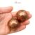 Медные шары кованые без тонировки 26.002