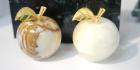 Яблочки из камня оникс