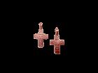 Медный крестик литой 1.015