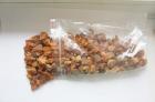Янтарная крошка крупная фасованная (упаковка 100 грамм)