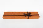 Коробка для браслета коричневая