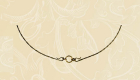 Кольцо на шею для подвески латунь