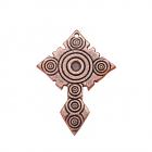 Медный крестик литой 1.002