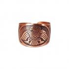 Медное кольцо 12.001 размер 15-17,5