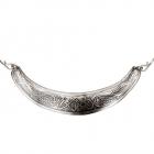 Гривна «Кельтские переплетенные птицы» мельхиор